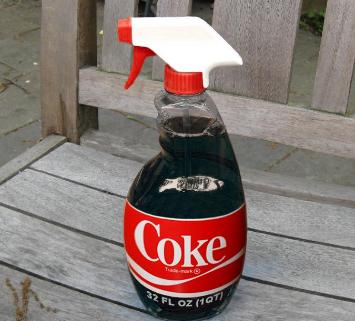 coke spray soft drink